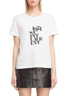 Saint Laurent 1971 Graphic Tee