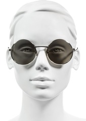 Yves Saint Laurent Saint Laurent 52mm Round Sunglasses