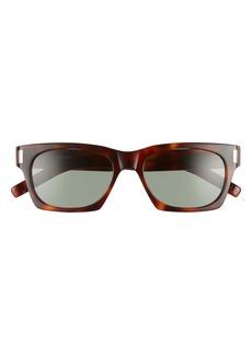 Yves Saint Laurent Saint Laurent 54mm Rectangular Sunglasses