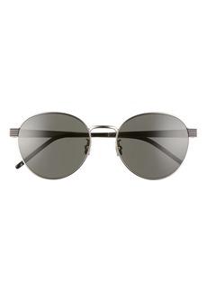 Yves Saint Laurent Saint Laurent 55mm Oval Sunglasses
