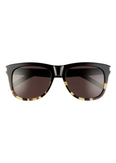 Yves Saint Laurent Saint Laurent 57mm Square Sunglasses