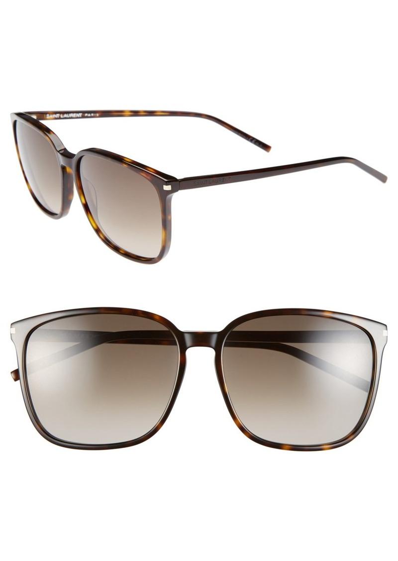 yves saint laurent saint laurent 58mm retro sunglasses sunglasses shop it to me. Black Bedroom Furniture Sets. Home Design Ideas
