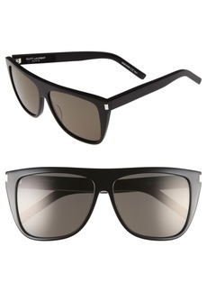 Saint Laurent 59mm Sunglasses