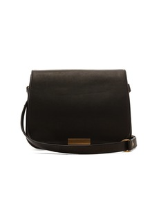 Saint Laurent Amalia leather saddle bag