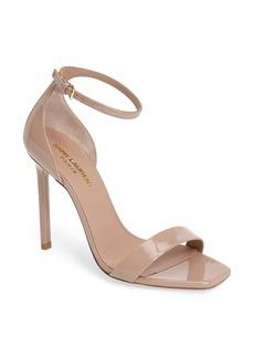 Yves Saint Laurent Saint Laurent Amber Ankle Strap Sandal (Women)