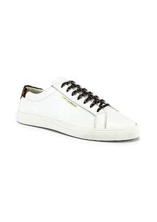 Yves Saint Laurent Saint Laurent Andy Low Top Sneakers