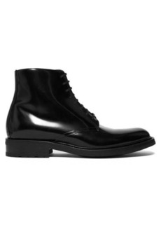 Yves Saint Laurent Saint Laurent Army 20 high-shine leather ankle boots