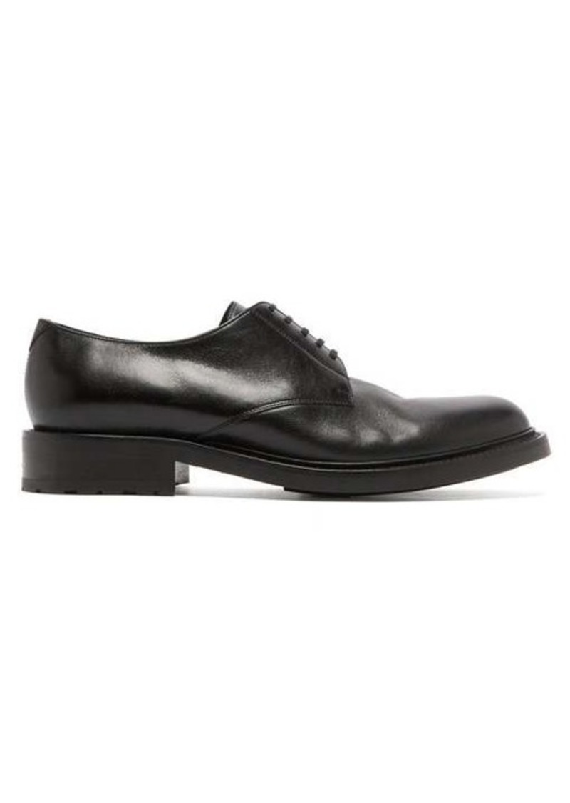 Yves Saint Laurent Saint Laurent Army 20 high-shine leather derby shoes