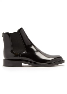 Yves Saint Laurent Saint Laurent Army leather chelsea boots