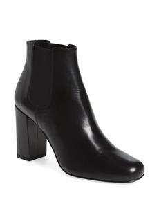 Yves Saint Laurent Saint Laurent 'Babies' Block Heel Chelsea Boot (Women)