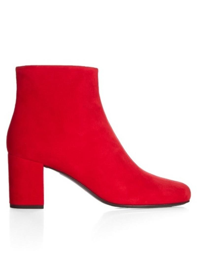 Yves Saint Laurent Saint Laurent Babies block-heel suede ankle boots