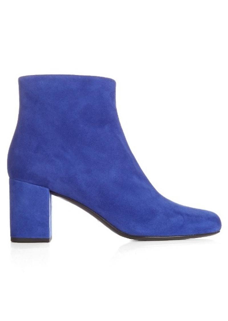Yves Saint Laurent Saint Laurent Babies block-heel suede ankle boots