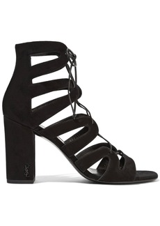 Yves Saint Laurent Saint Laurent Babies lace-up leather sandals