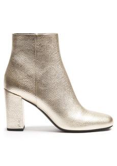 Saint Laurent Babies leather ankle boots