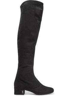 Yves Saint Laurent Saint Laurent Babies suede over-the-knee boots