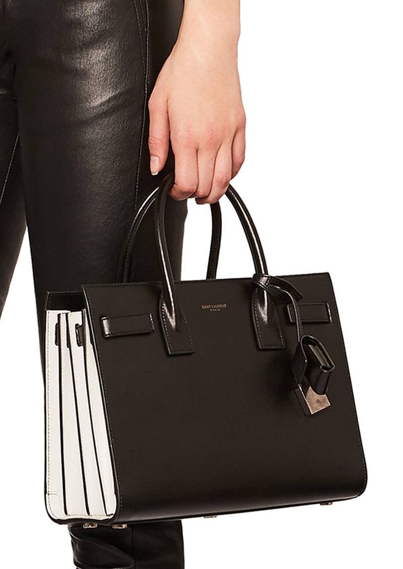 9605d4e2239f Saint Laurent Baby Colorblock Sac de Jour
