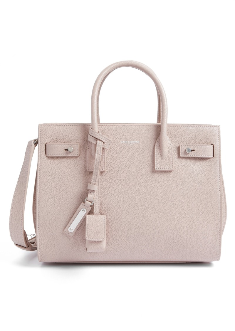 cce1cf47df8 Saint Laurent Saint Laurent Baby Sac de Jour Leather Tote | Handbags