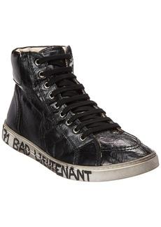 Yves Saint Laurent Saint Laurent Bad Lieutenant Leather Sneaker