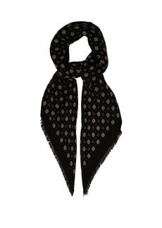 Yves Saint Laurent Saint Laurent Bandana-print wool scarf