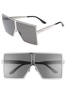 Yves Saint Laurent Saint Laurent Betty 68mm Shield Sunglasses