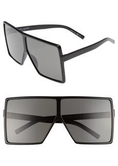Saint Laurent Betty 68mm Square Sunglasses
