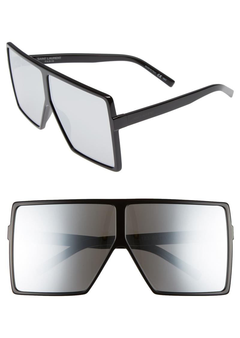 af457f44ded Saint Laurent Saint Laurent Betty 68mm Square Sunglasses