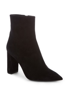 Saint Laurent Betty Pointy Toe Bootie (Women)