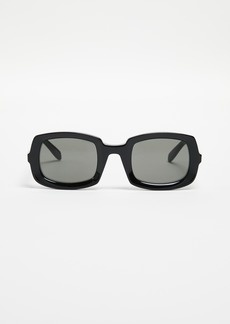 Saint Laurent Beveled Sunglasses