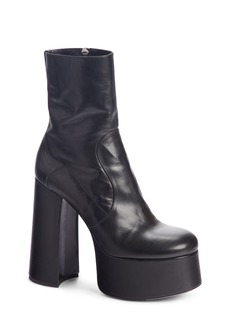 Yves Saint Laurent Saint Laurent Billy Kangaroo Leather Platform Boot (Women)