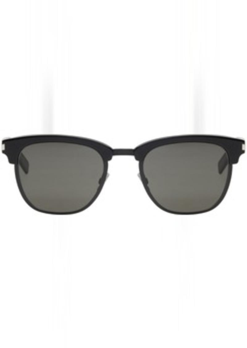 cdd719b6efa Saint Laurent Black Iconic SL 108 Re-Edition Sunglasses. Yves Saint Laurent