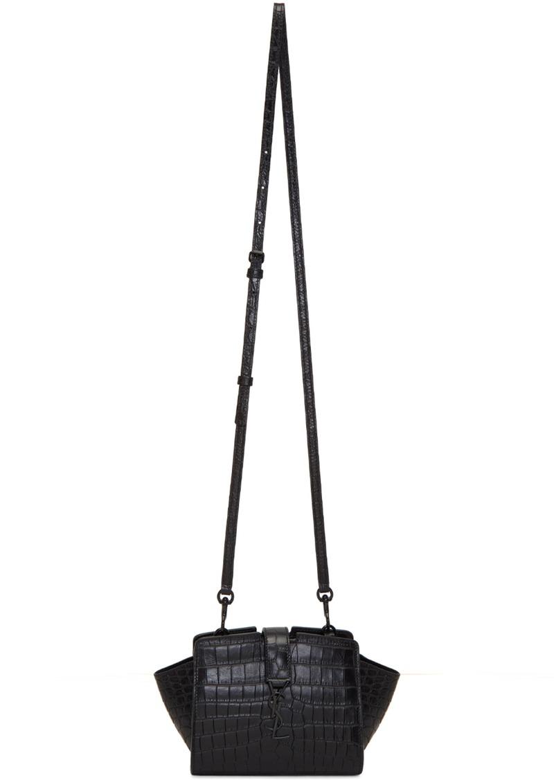 d1ca11e5ef68 Saint Laurent Saint Laurent Black Toy YSL Cabas Bag