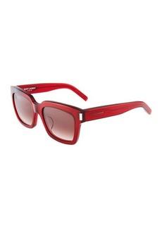 Yves Saint Laurent Saint Laurent Bold 1 Square Sunglasses