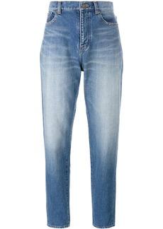 Yves Saint Laurent Saint Laurent boyfriend jeans - Blue