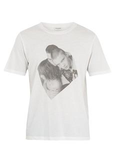 Yves Saint Laurent Saint Laurent Boys-print cotton T-shirt