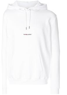 Yves Saint Laurent logo-print hoodie