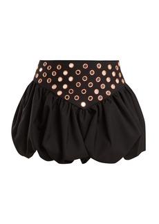 Yves Saint Laurent Saint Laurent Bubble-hem mini skirt