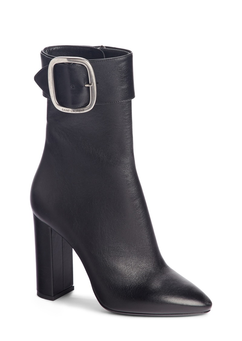 Saint Laurent Buckle Bootie (Women)