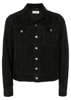 Yves Saint Laurent button-down fitted jacket