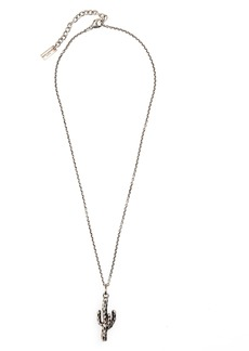 Yves Saint Laurent Saint Laurent Cactus Pendant Necklace
