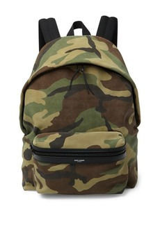 Yves Saint Laurent Camouflage Hunting Backpack