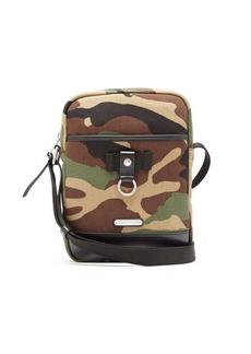 984cfda823 Yves Saint Laurent Saint Laurent Camouflage-print canvas and leather  cross-body bag