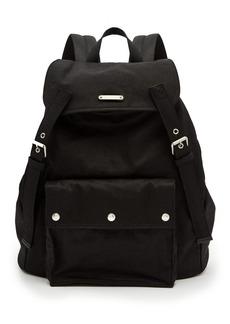 Yves Saint Laurent Saint Laurent Canvas and leather backpack