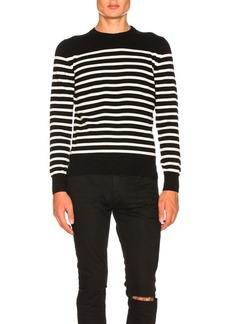 Yves Saint Laurent Saint Laurent Cashmere Striped Sweater