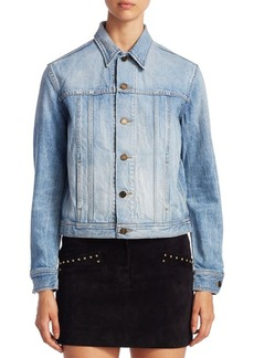 Yves Saint Laurent SAINT LAURENT Cat Denim Jacket