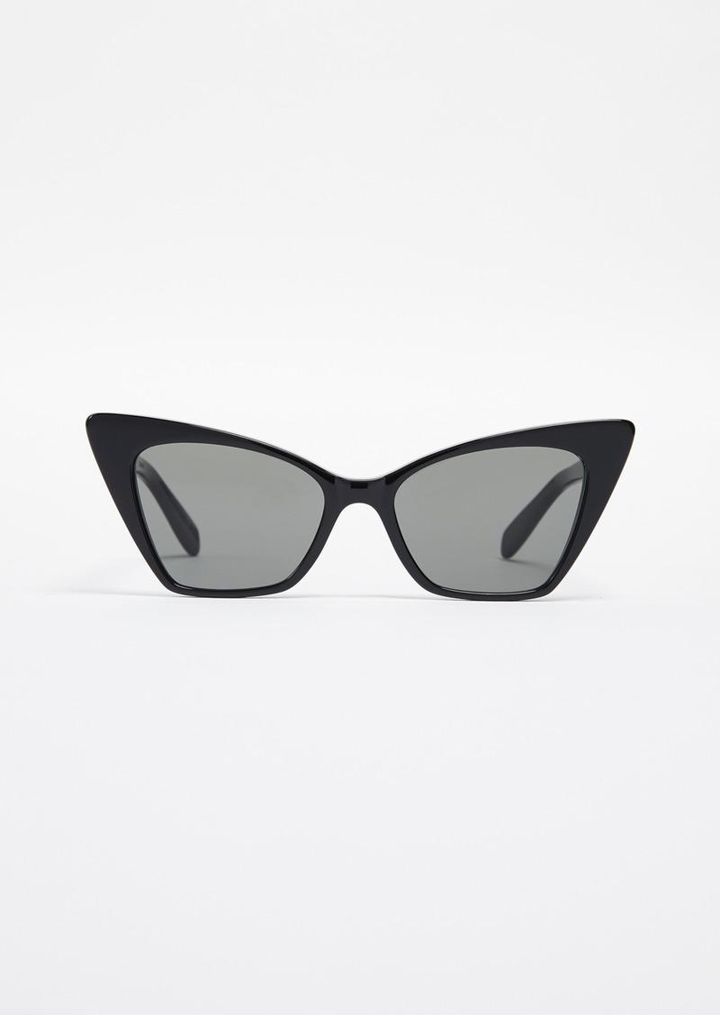 69021338adb7 Saint Laurent Saint Laurent Cateye Sunglasses | Sunglasses