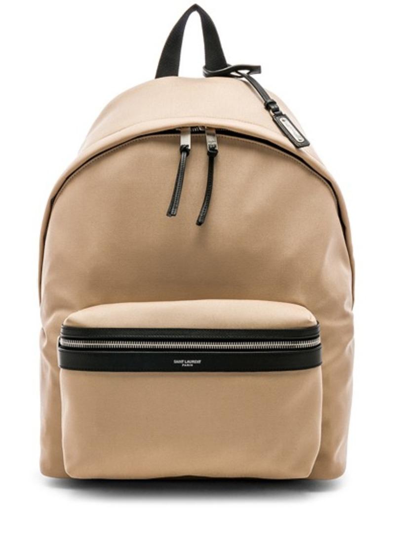 66575b8917fe Yves Saint Laurent Saint Laurent City Backpack