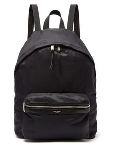 Yves Saint Laurent Saint Laurent City nylon backpack