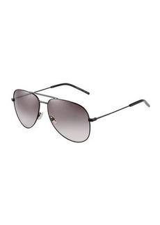 Yves Saint Laurent Saint Laurent Classic 11 Metal Aviator Sunglasses