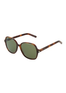 Yves Saint Laurent Saint Laurent Classic 8 Acetate Rounded Sunglasses