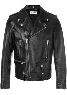 Yves Saint Laurent classic biker jacket
